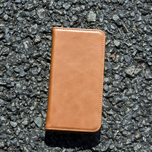 Premium wallet opening leather case,flip leather phone case
