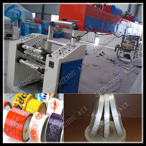 High quality bopp tape slitting machine/bopp adhesive tape printing machine