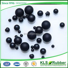 cheap price small solid hard rubber balls