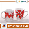 drinking red custom printing ceramic coffe mug cup