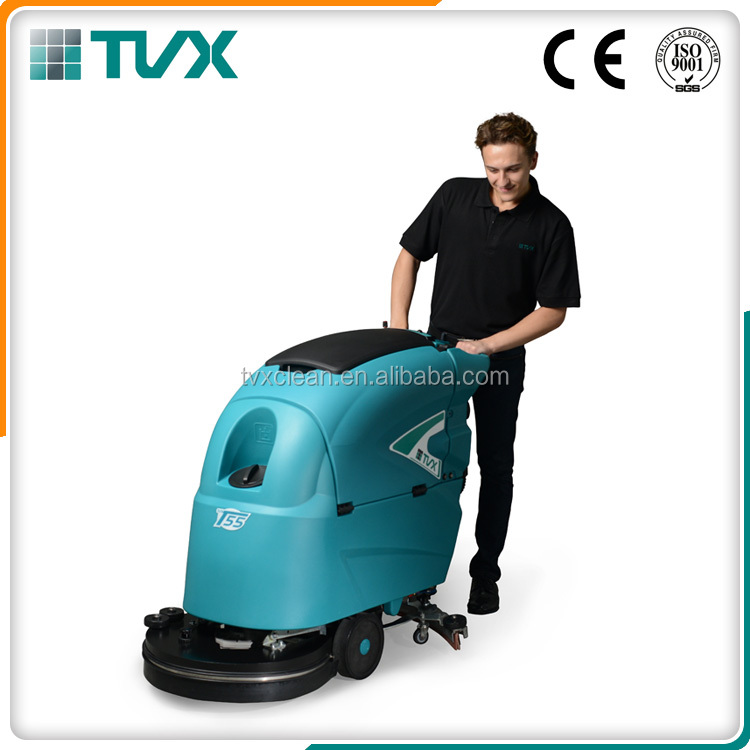 Professional supplier of high quality rechargeable floor scrubber with ETL