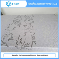 2016 Hangzhou Home Textile 100% Polyester Knitted Mattress Fabrics