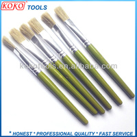Color painting wooden handle bristles artist pens