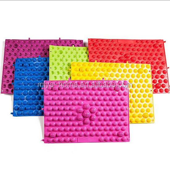 Hot selling Foot Massage Pad Toe Pressure Plate / Mat Foot Massage Explosion Pebbles Yoga Mat