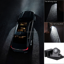sanyou 2018 Newest arrival popular IP67 Led welcome door lights with angle wings for auto parts