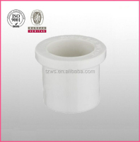 """HJ"" PVC white plastic sch40 pipe fittings bushing reducing bush"