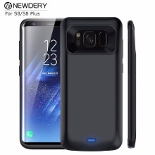 5500mAh Wholesale Portable Battery Charger Case For Samsung Galaxy S8 Plus Power Backup Case external charger case