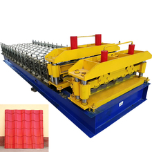 Roof Tile forming machine.XFD840 glazed tile forming machine,of high quality and best price