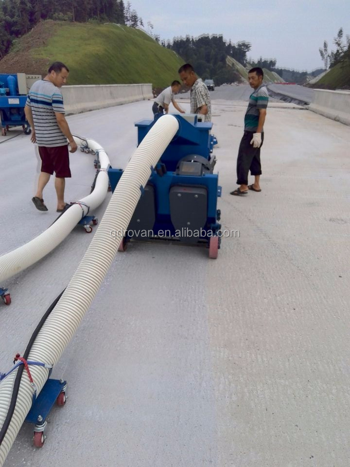 High quality floor shot blasting machine for road marking line removing