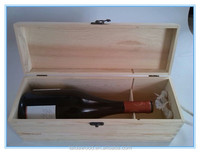 Single Bottle Cheap Wooden Wine Box For Sale