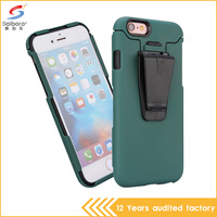 Wholesale trade assurance pc tpu practical belt clip case for iphone 6 plus