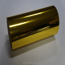 Bright Gold 80 Micron PET Laminaion Roll Film