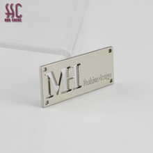 Metal label tag & logo for handbag brand bag hardware accessory