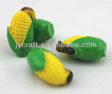 resin mini fake candy corn cob handicraft sculpture statues model for promotion decorative display