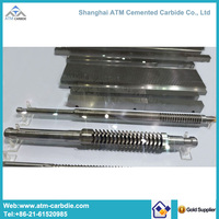 Cemented carbide broaching cutter