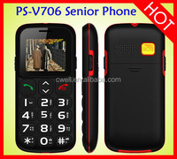 High Volume SOS emergency call Large keypad with large screen mobile phone elderly V706