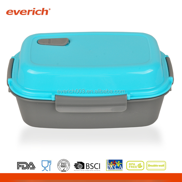 2017 Cheap OEM Plastic Traveling To Go Bento Lunch Box