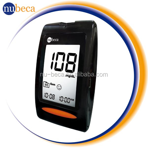Easy to Touch Digital blood glucose /sugar /diabetes testing Meter