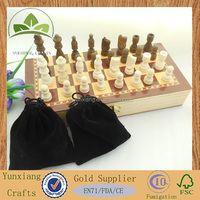 2.5 inch wood international checker chess board