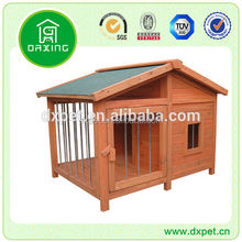 Weather Proof Outdoor Wooden Dog Kennel DXDH007