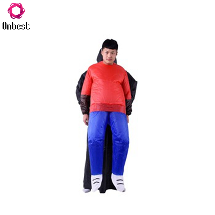 Black Inflatable Funny Clothes Costumes For Children