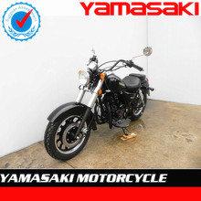 black color 250cc gasoline chopper motorcycle