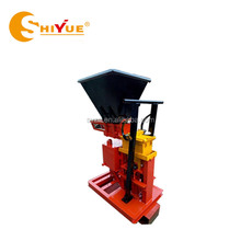 ECO BRAVA brick wall building machine/paving block making machine with clay