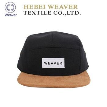 Cowboy genuine snapback leather strap buckle hat