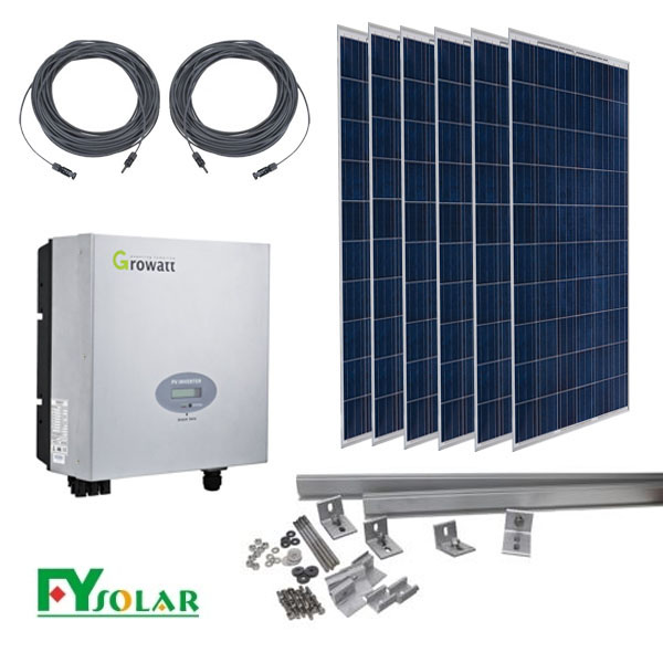 on grid <strong>solar</strong> system with 250W price per watt <strong>solar</strong> panels For Home Use <strong>solar</strong>