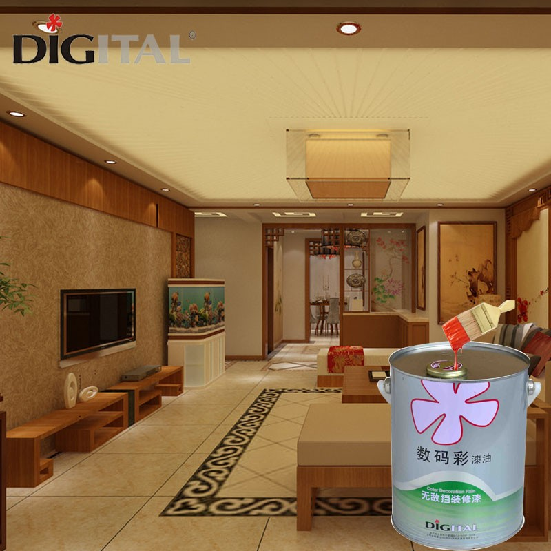 China factory soft gloss wood paint for house decoration