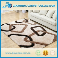 Waterproof high end long pile 2016 new design factory supply home decor shaggy carpet