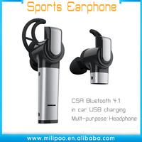 CSR CAR headphones Wireless Stereo Headphones Mobile phone Headphones for driving and sports