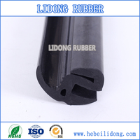 aluminum window rubber seal edge protection strip