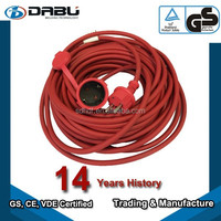 Home Appliance IP44 Power Cable German Extension Cord Power cable kit