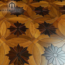 Oak Wood Natural Wood Inlay Art Parquet Flooring Wood Floor