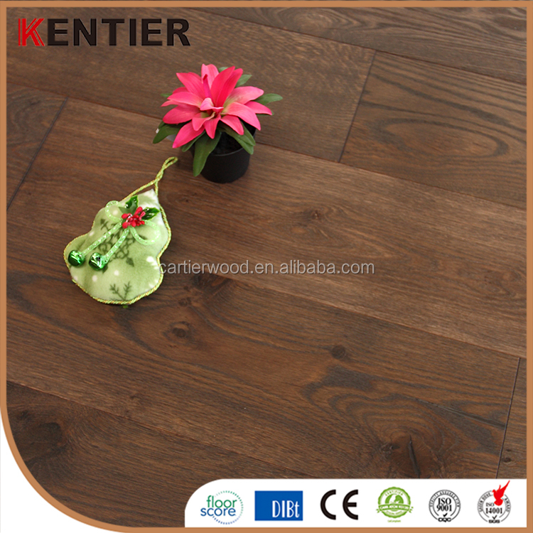 kentier American style oak veneer chevron parquet engineered wood flooring