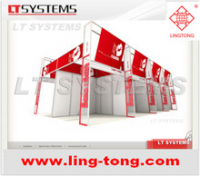 aluminium display exhibition booth from LING TONG