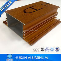 China produced 6000 series aluminum 6063 alloy extruded profile for window