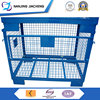 Foldable Industrial Wire Mesh Crate Storage Container