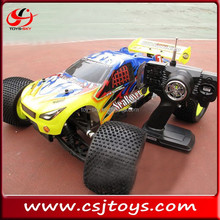 2.4G 1:8 4WD Speed Gas RC drifting car of Nitro power iniversal off road Truggy