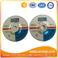 flexible grinding disc for stainless steel 115*6*22mm