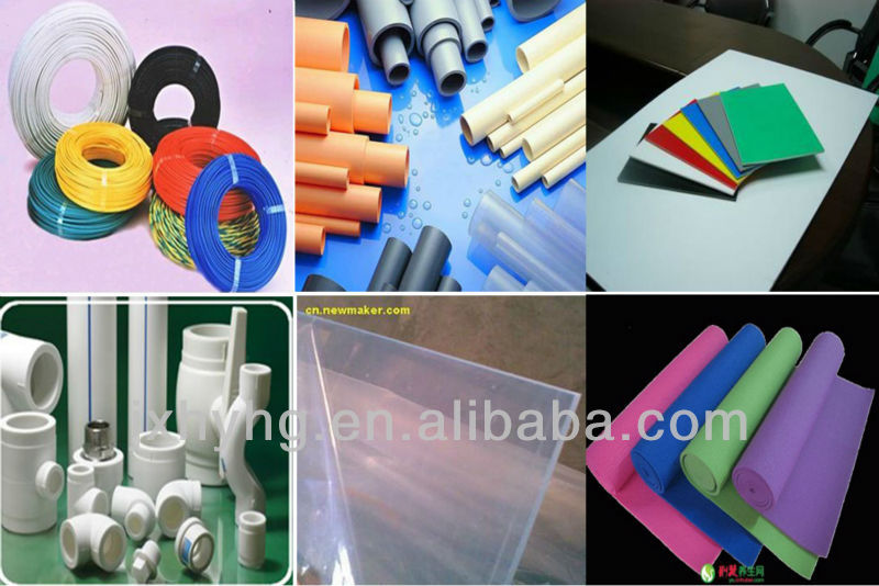 pvc stabilizer for pipe profile and cable