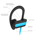 Top selling waterproof running sport bluetooth neckband earbuds headset earphones in ear
