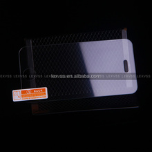 0.33mm T angle border 9H hardness super guard lcd screen protector for iphone 4