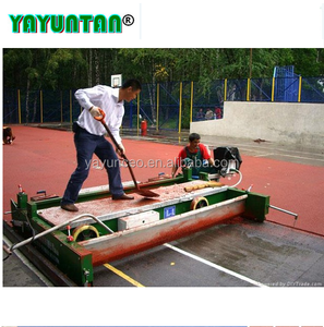 All weather 13mm synthetic rubber running track materials EPDM granule