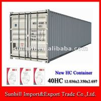 New/Used 40HC ISO Shipping Dry Cargo Container