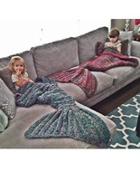 beautiful mermaid tail blanket bag mermaid tail blanket bag Don't hesitate to contact me(Can be customized)