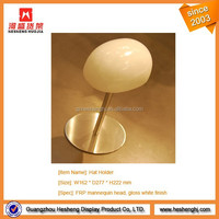 table top single mannequin head hat display stand