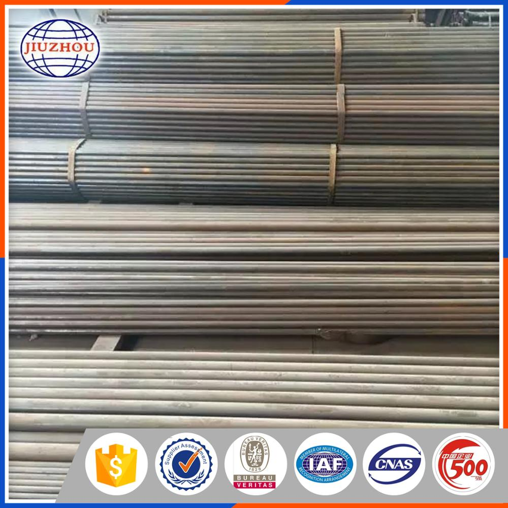 Large Stock Top Standard Wall Thickness 2mm 120mm Schedule 40 ERWSteel Pipe