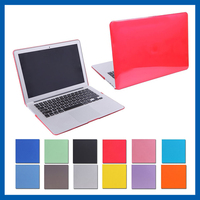 C&T High quality transparent hard shell crystal hard case shell cover for macbook air 11.6''